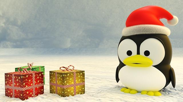 Weihnachts Tux